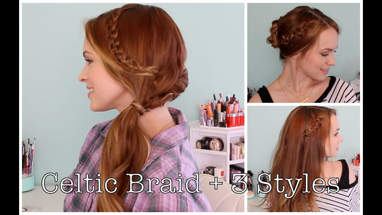 Celtic Hairstyles Female  Celtic Braid and 3 Ways to Style It