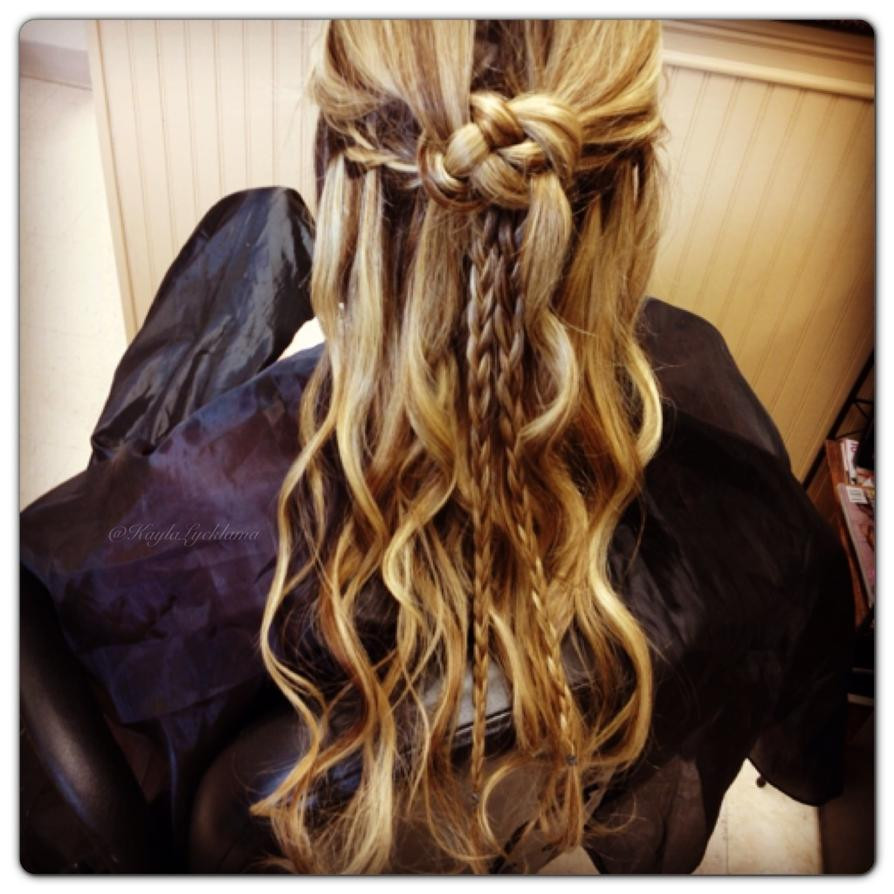 Celtic Hairstyles Female  Celtic hairstyle by u22andme22 on DeviantArt