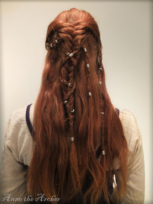 Celtic Hairstyles Female  viking hairstyle