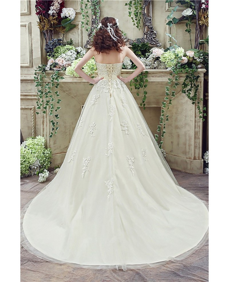 Champagne Wedding Gowns  Casual Champagne Bridal Dress Ball Gown For 2018 Weddings