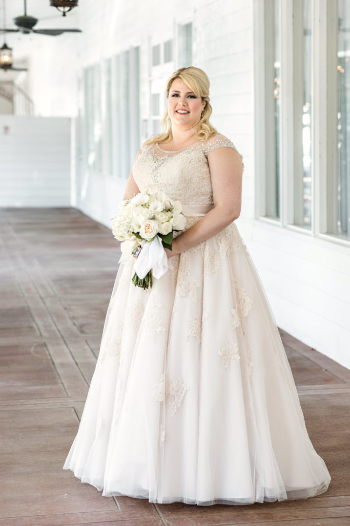 Champagne Wedding Gowns  Ashley s Illusion Neckline Champagne Wedding Dress Strut