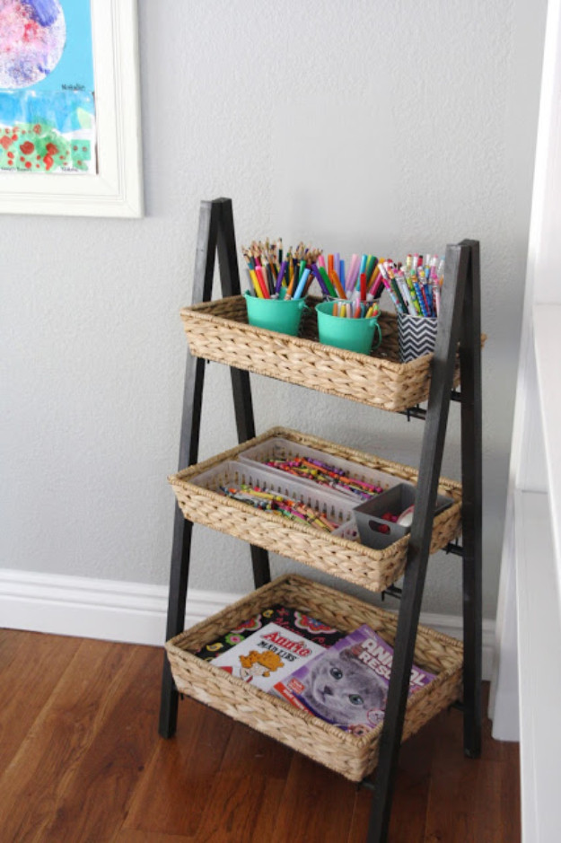 Cheap Organizing Ideas For Kids Rooms  15 Creative DIY Organizing Ideas For Your Kids Room