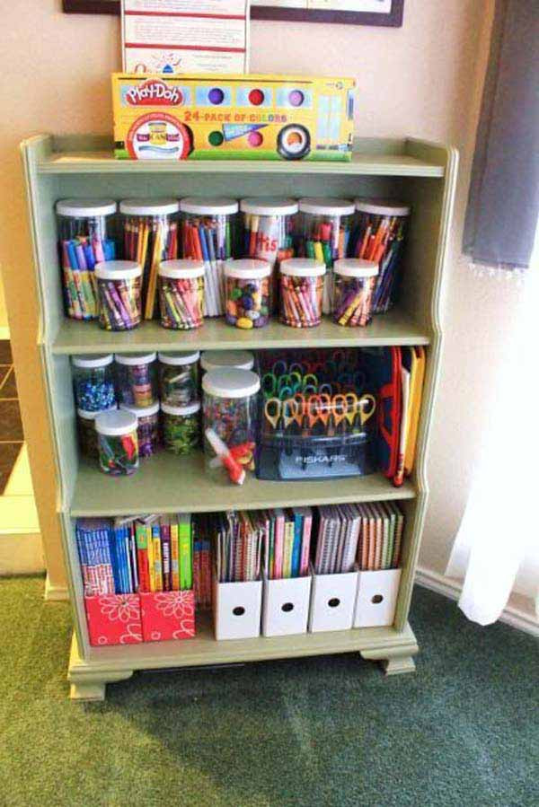 Cheap Organizing Ideas For Kids Rooms  28 Genius Ideas and Hacks to Organize Your Childs Room
