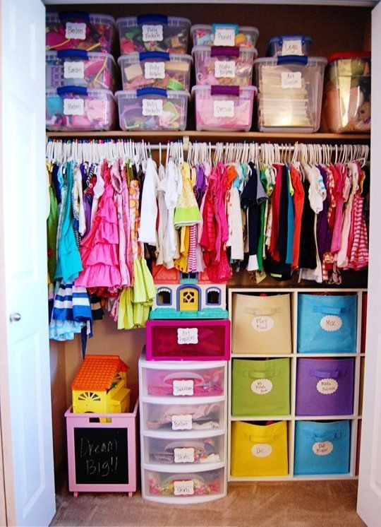 Cheap Organizing Ideas For Kids Rooms  37 Smart And Fun Ways To Organize Your Kids' Clothes