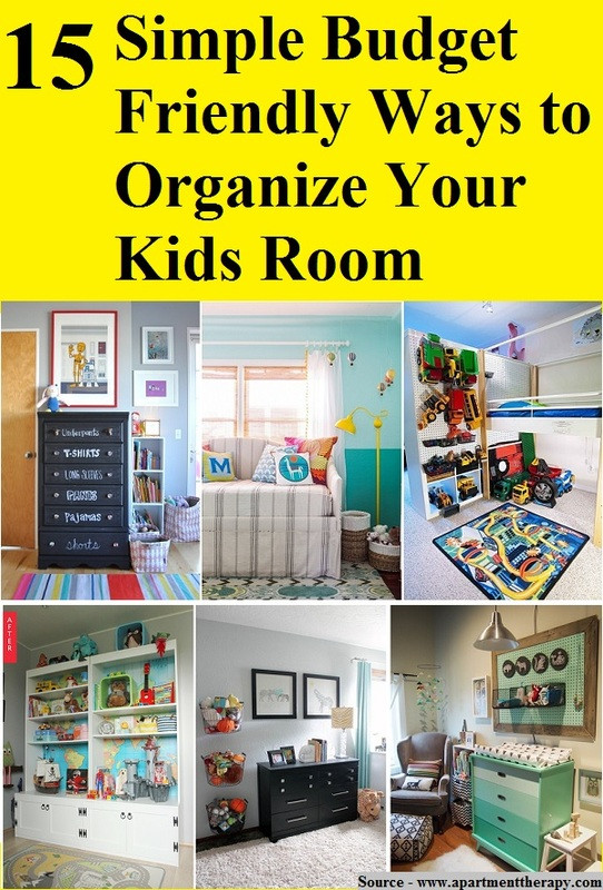 Cheap Organizing Ideas For Kids Rooms  15 Simple Bud Friendly Ways to Organize Your Kids Room