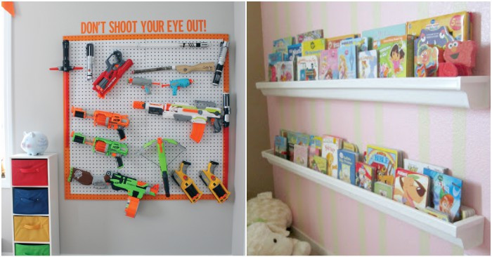 Cheap Organizing Ideas For Kids Rooms  16 Tricks to Organize Kid Rooms on a Bud
