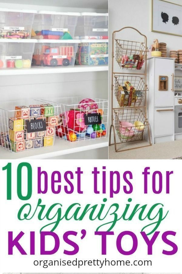 Cheap Organizing Ideas For Kids Rooms  How to Organize Kids Toys