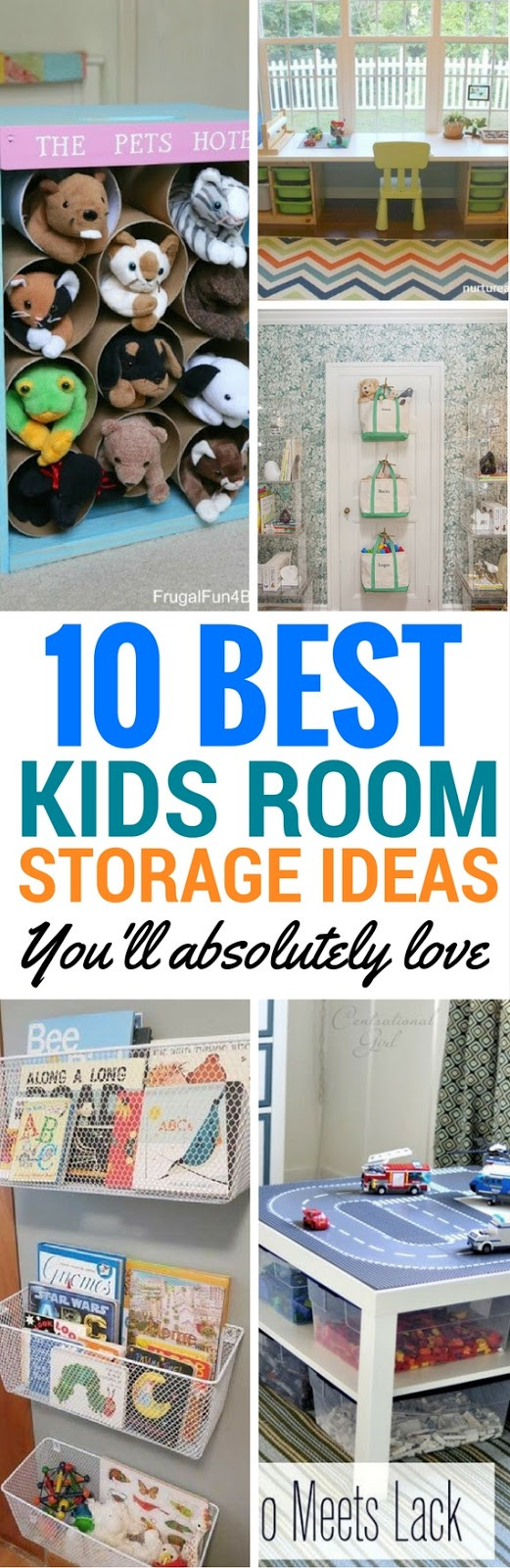 Cheap Organizing Ideas For Kids Rooms  10 Best Storage Ideas For Your Kids Room Craftsonfire