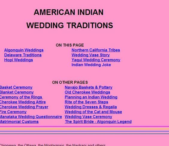 Cherokee Wedding Vows  Cherokee and Wedding on Pinterest