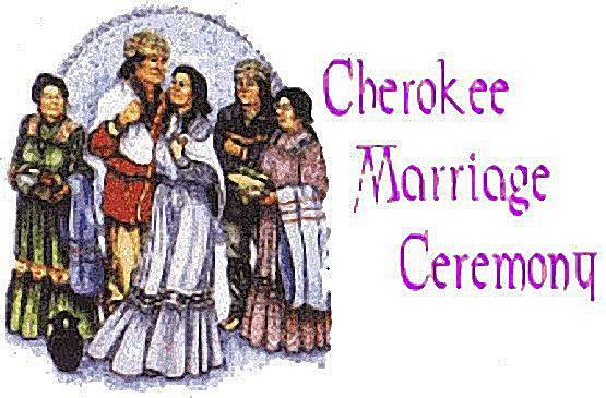Cherokee Wedding Vows  Cherokee Wedding Ceremony