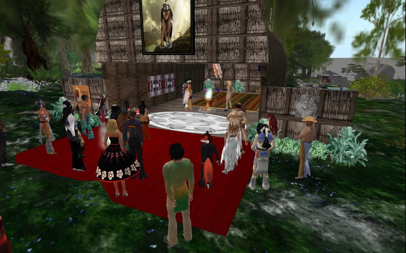 Cherokee Wedding Vows  SL Newser People Pint and Krams' Cherokee Wedding