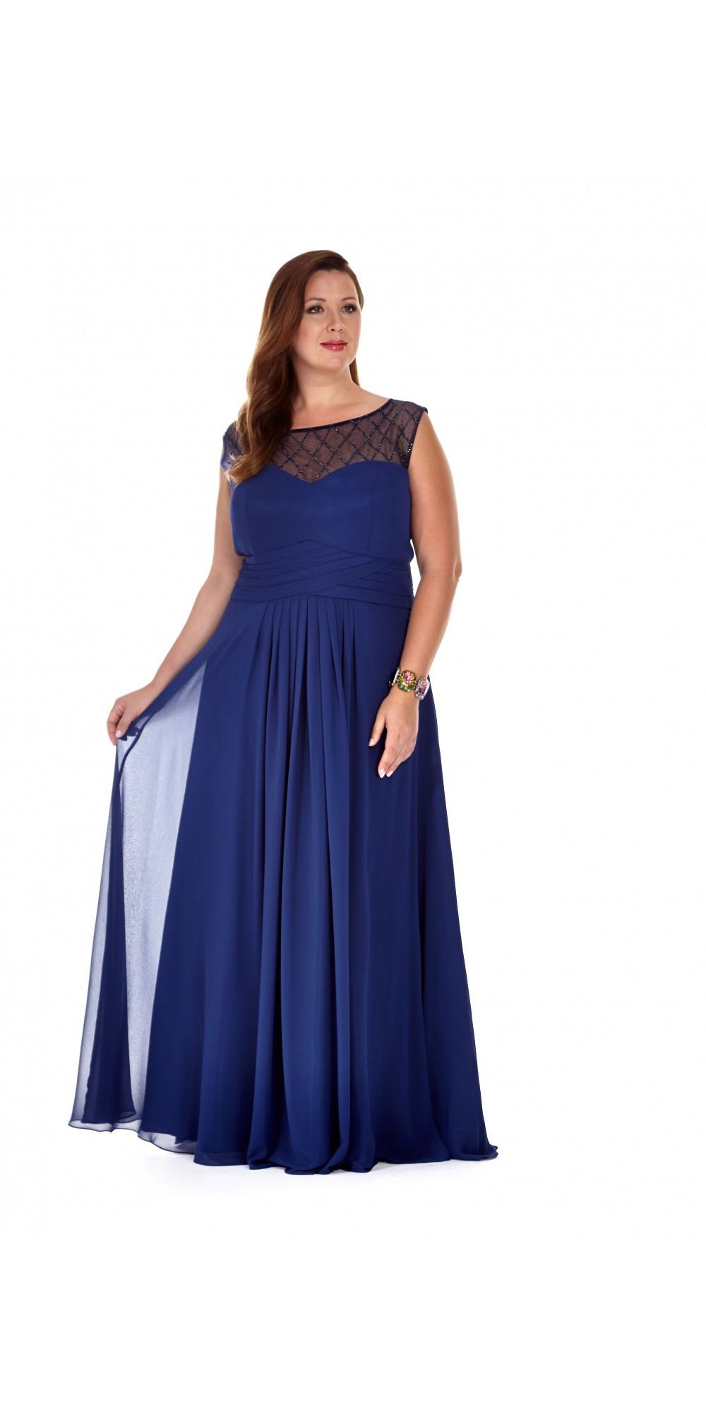 Chiffon Wedding Gown  Vintage Style Chiffon Wedding Gown by Sydney s Closet