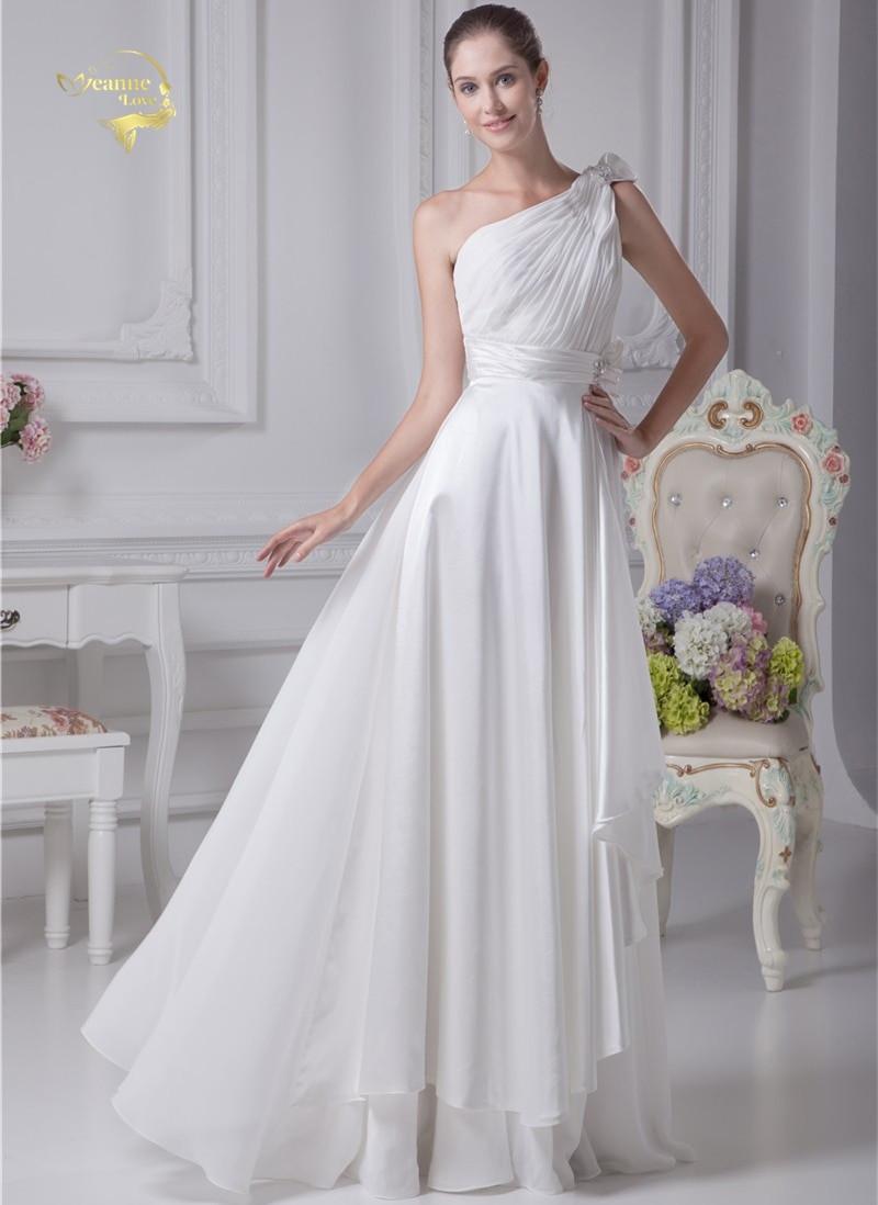 Chiffon Wedding Gown  Sashes Chiffon Simple Beach Wedding Dresses 2018 New