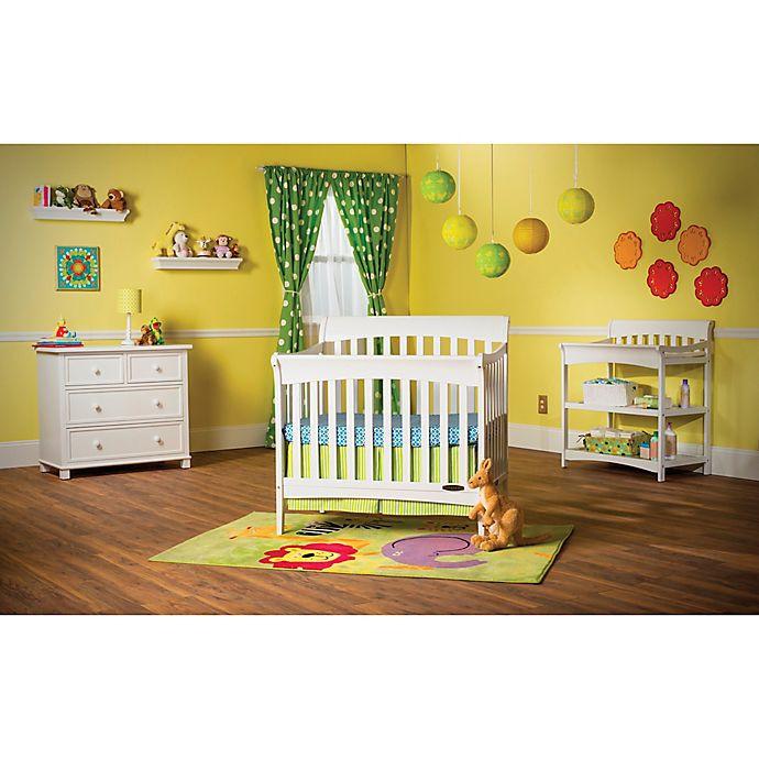 Child Craft Coventry Crib  Child Craft™ Coventry Mini 4 in 1 Convertible Sleigh Crib