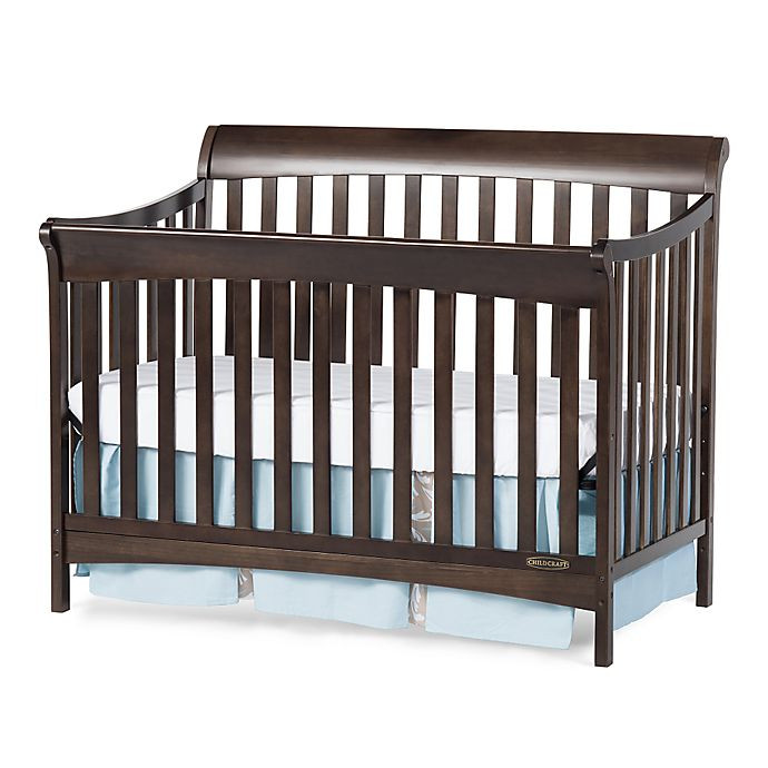 Child Craft Coventry Crib  Child Craft™ Coventry 4 in 1 Convertible Crib in Slate