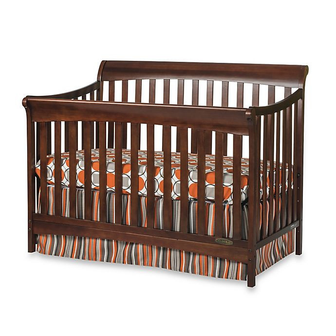 Child Craft Coventry Crib  Child Craft™ Coventry 4 in 1 Convertible Sleigh Crib in