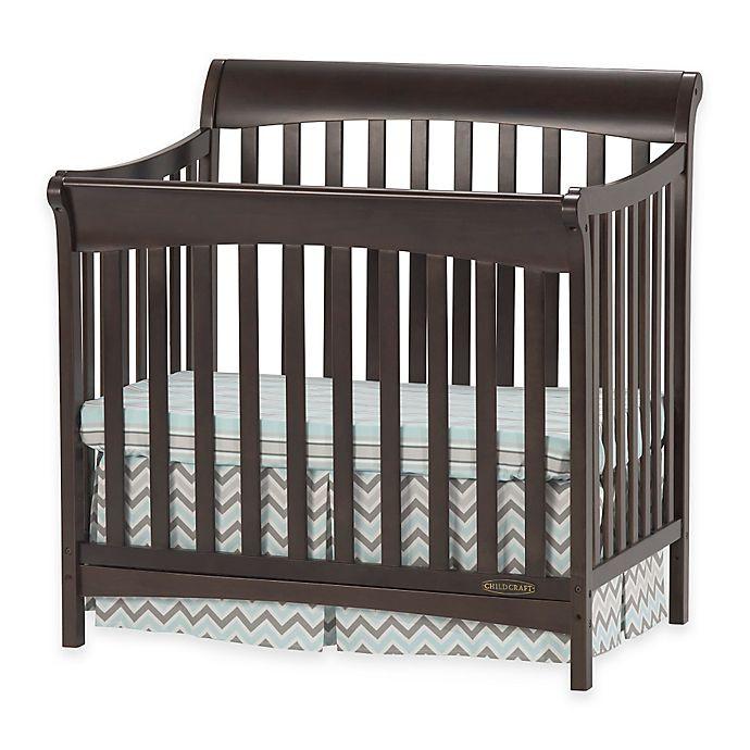 Child Craft Coventry Crib  Child Craft™ Coventry Mini 4 in 1 Convertible Crib in
