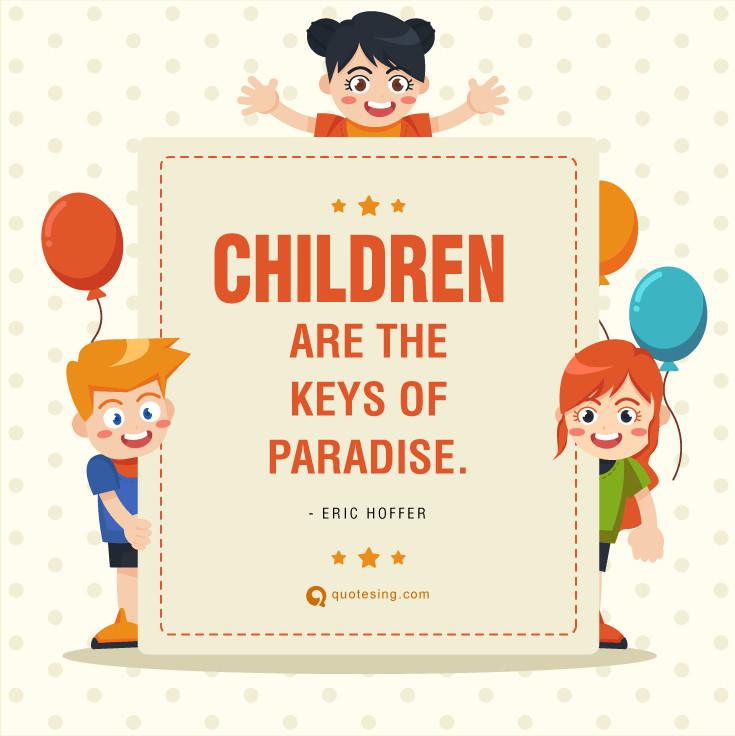 Child Happy Quotes  50 Happy Children's Day Quotes Quotesing