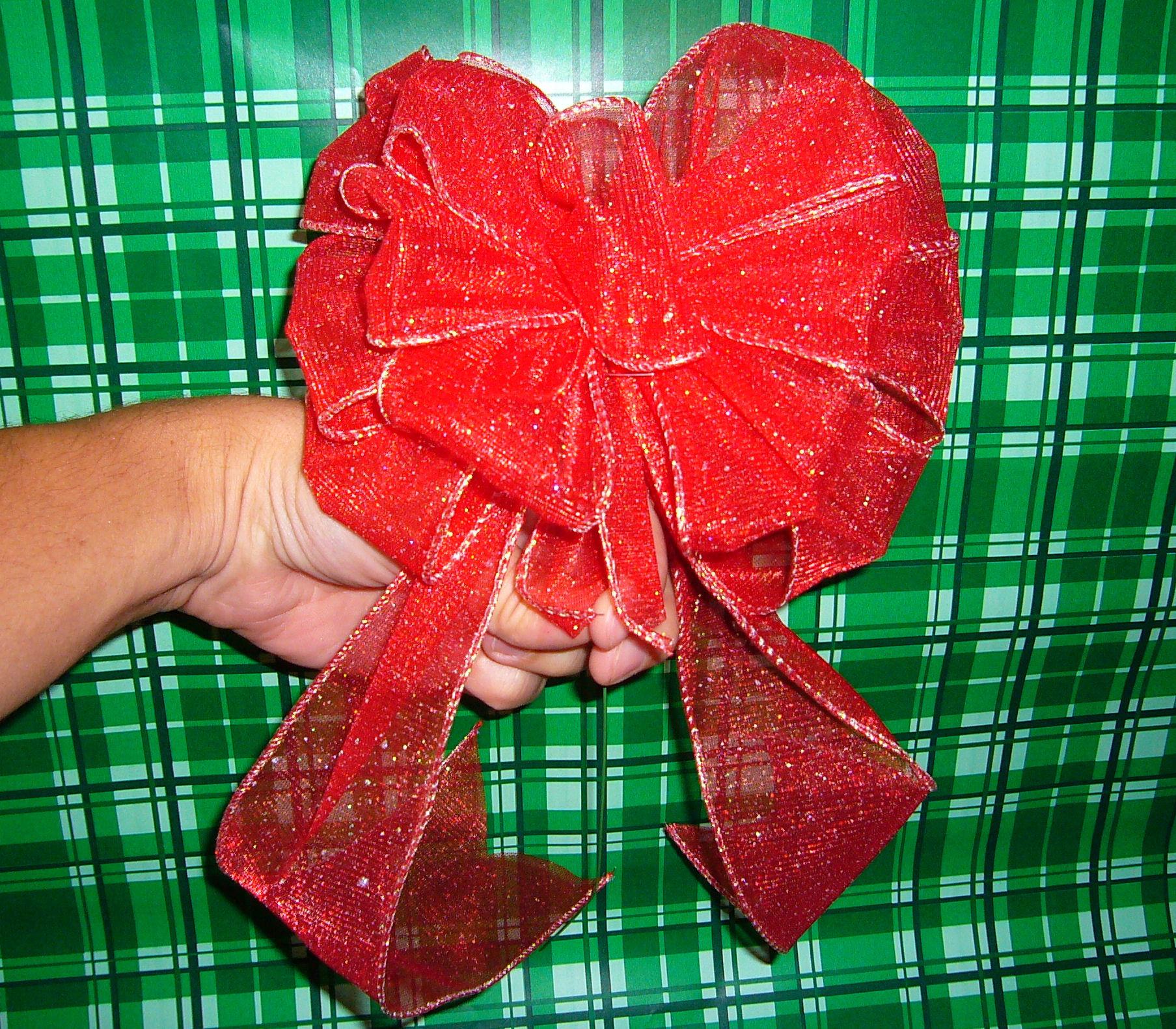 Christmas Bow DIY  DIY bows