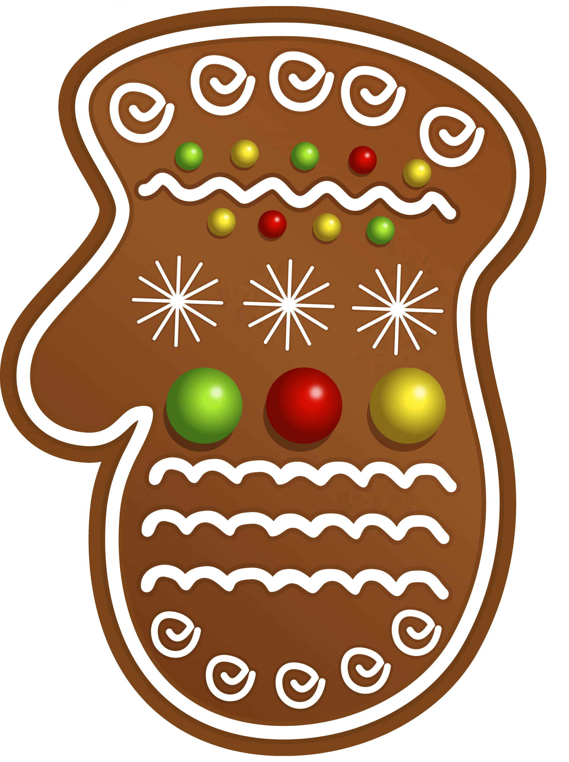 Christmas Cookies Clipart  Christmas Cookie Glove PNG Clipart Image