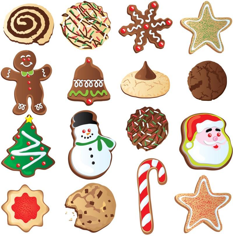 Christmas Cookies Clipart  food