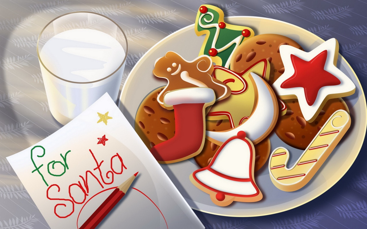Christmas Cookies Clipart  Traditional Foods Christmas Cookies