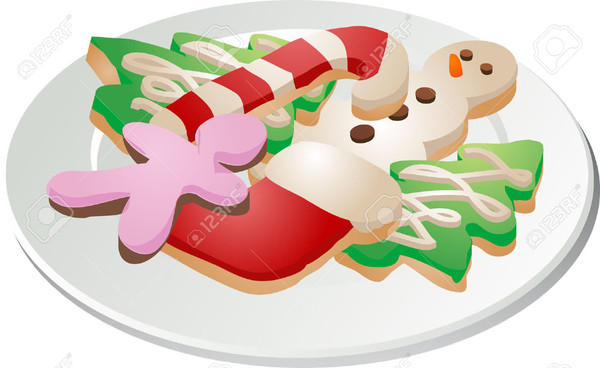 Christmas Cookies Clipart  Free Printable Christmas Cookie Clipart