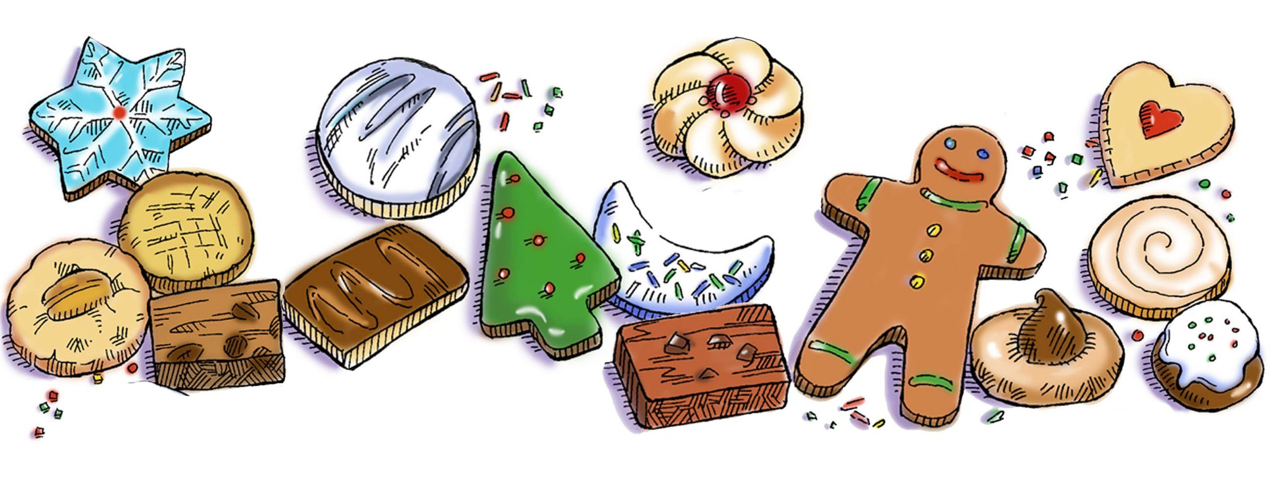 Christmas Cookies Clipart  Calvary Christmas Cookie Exchange