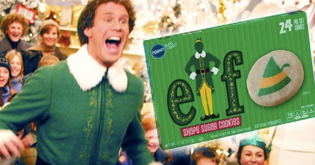 Christmas Cookies Movie 2020  Buddy the Elf Cookie Dough Is Exactly What You Need This