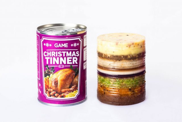 Christmas Dinner In A Can  Christmas Dinner in a Can Called Christmas Tinner Scioto
