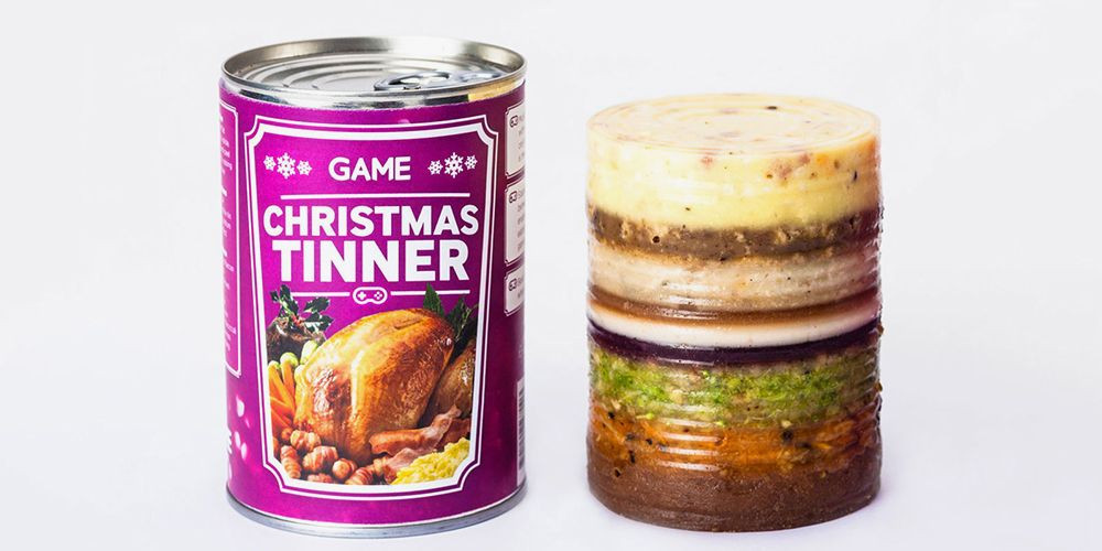 Christmas Dinner In A Can  For you baws on the move you can dig deep quick for a