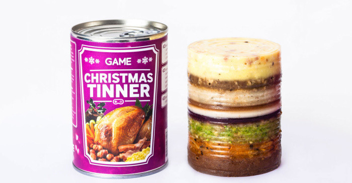 Christmas Dinner In A Can  Convenient What Get A Full Christmas Dinner In A