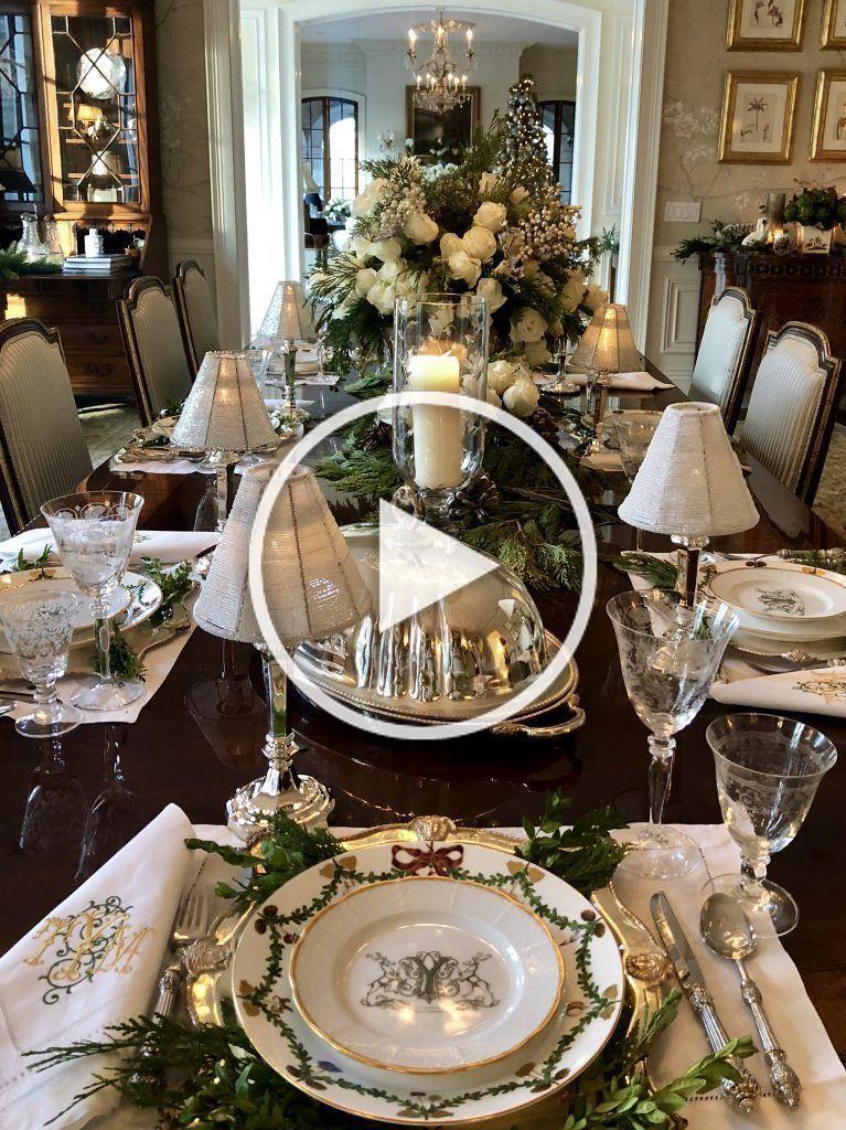 Christmas Dinner San Diego 2020  Recap on my Christmas dinner table The Enchanted Home