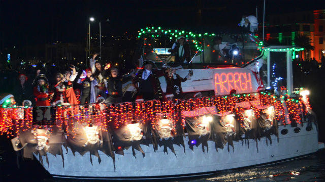 Christmas Dinner San Diego 2020  Christmas Theme Chosen for San Diego's Traditional Boat