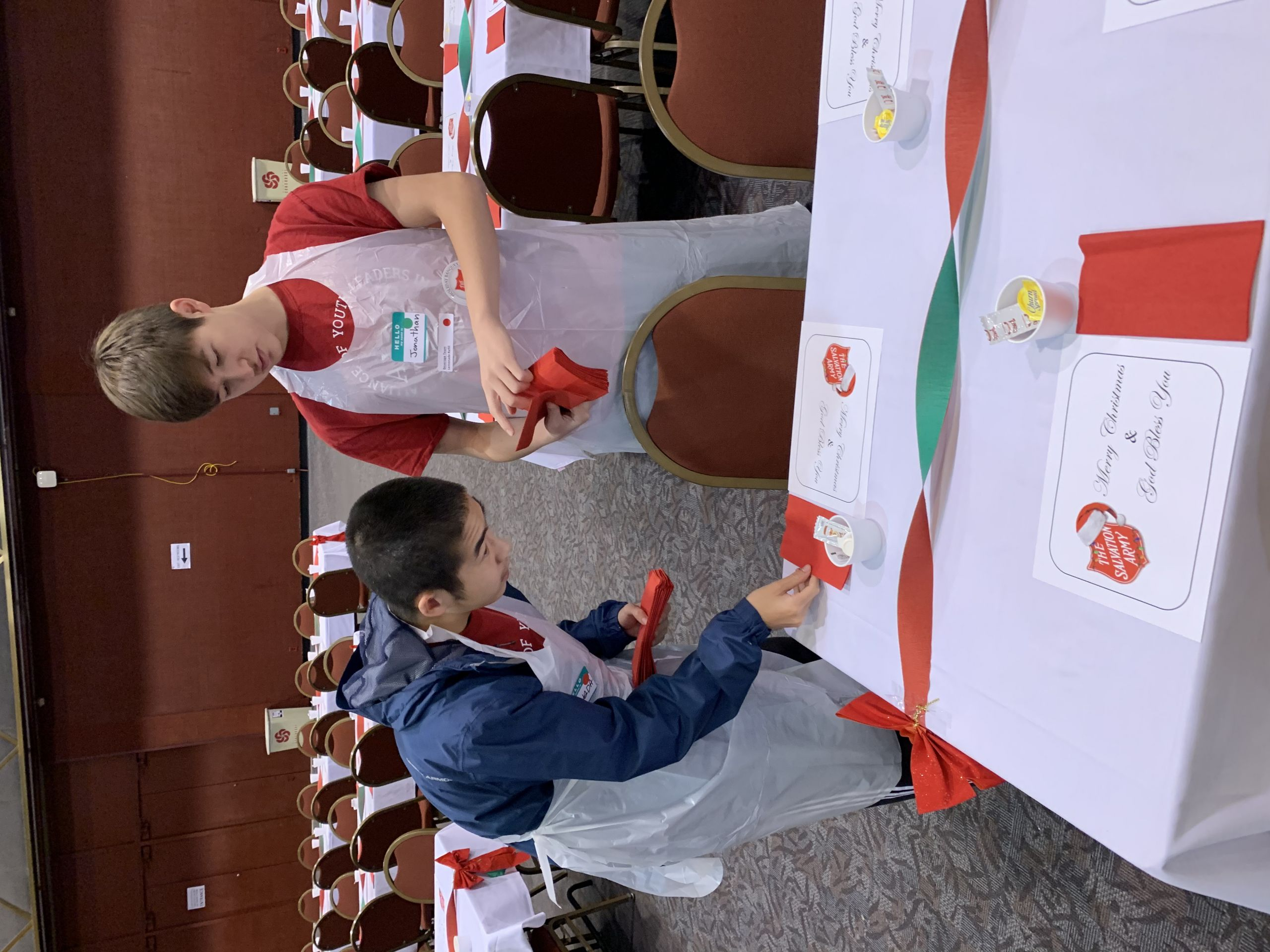 Christmas Dinner San Diego 2020  San Diego Branch Helps Serve Lunch at the Salvation Army