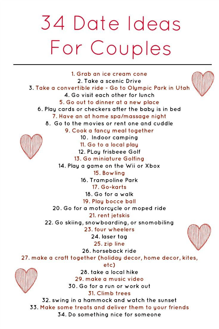 Christmas Gift Ideas For Young Married Couples  34 Weekly Date Ideas for Couples ing from a Happily
