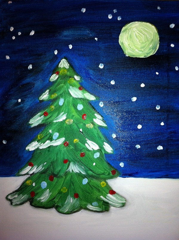 Christmas Painting Ideas For Kids  40 Painting Ideas For Kids