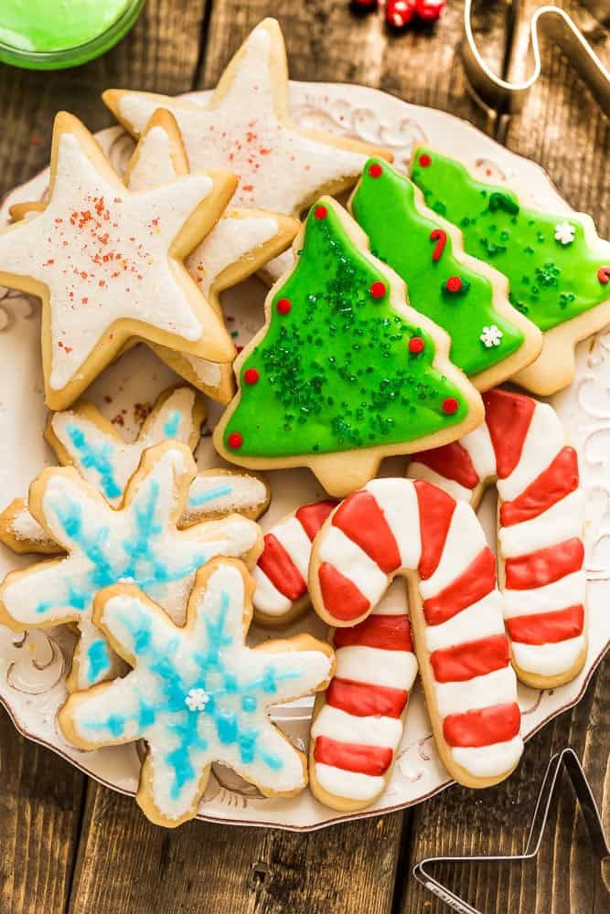 Christmas Sugar Cookies Recipe  The Best Sugar Cookie Recipe for Cut Out Shapes