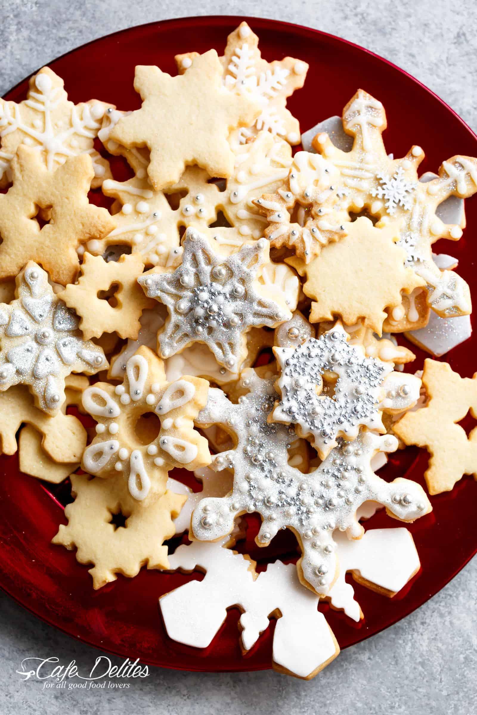 Christmas Sugar Cookies Recipe  Christmas Sugar Cookies Recipe Cafe Delites