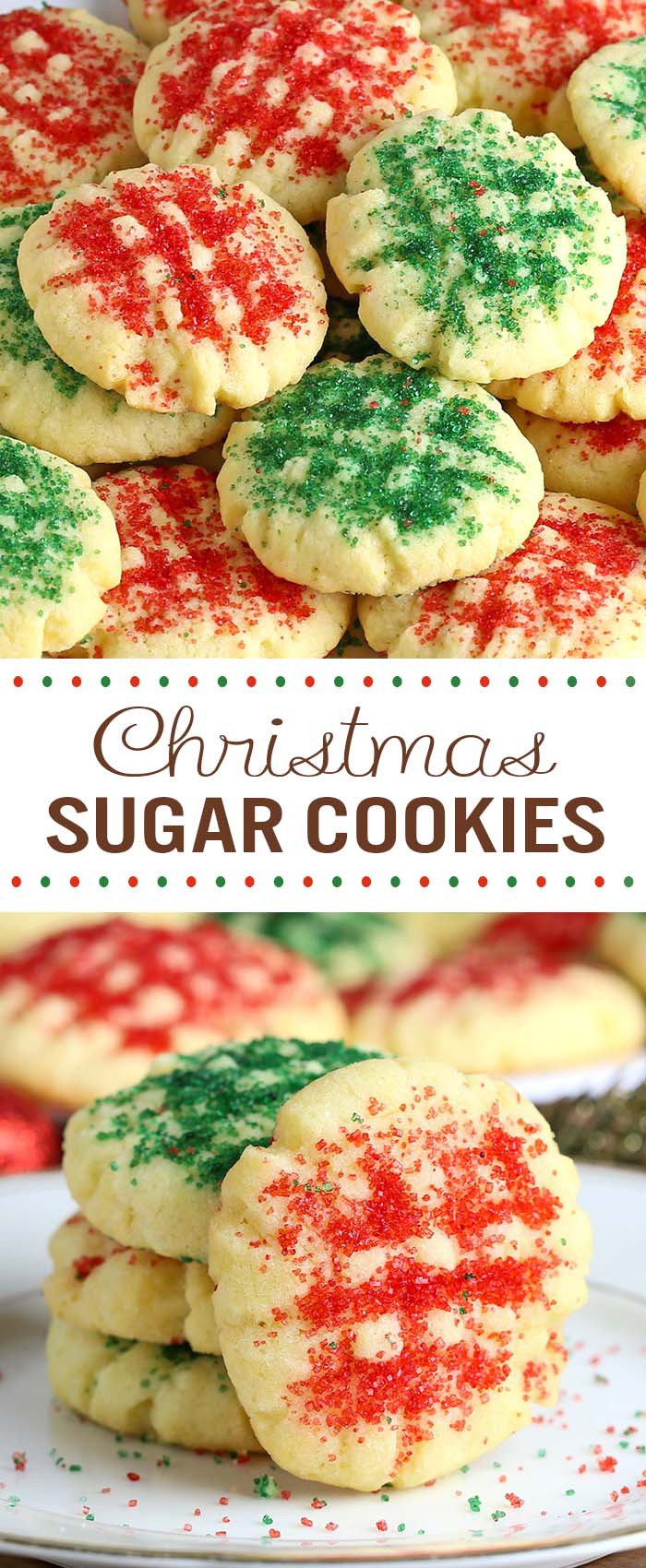 Christmas Sugar Cookies Recipe  Christmas Sugar Cookies Cakescottage