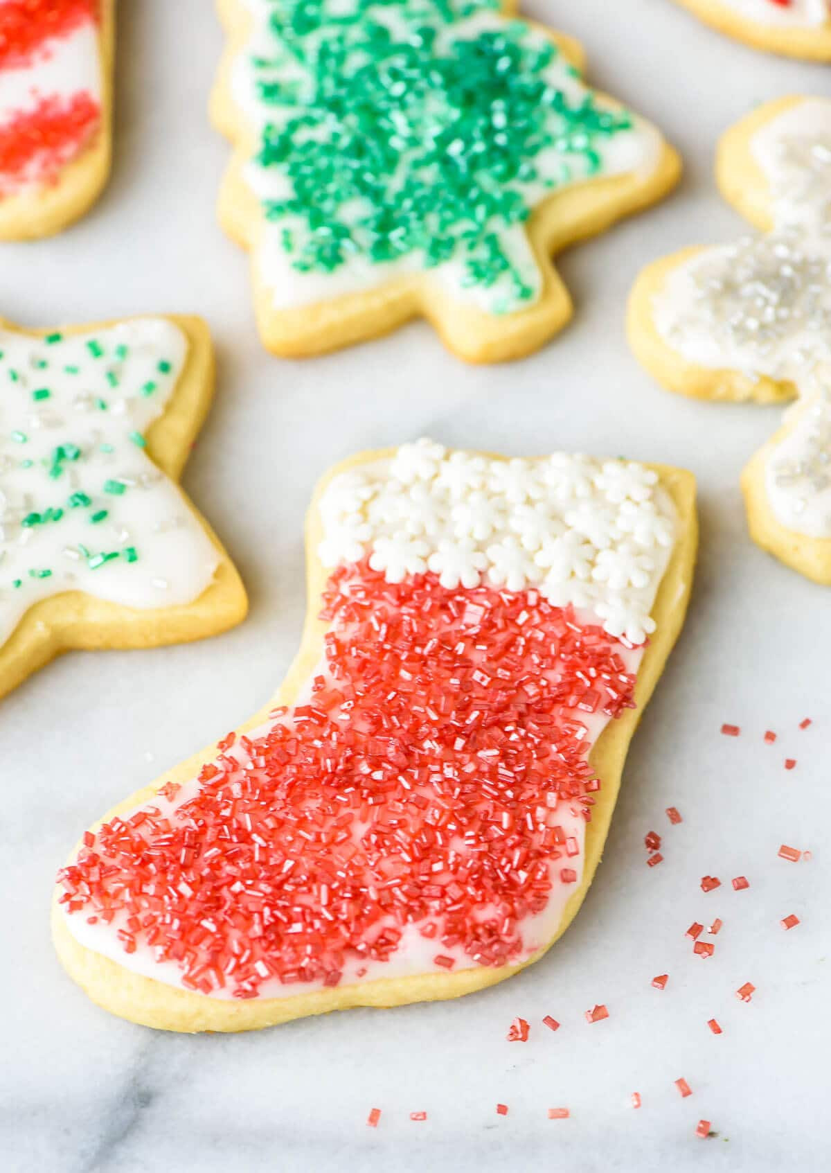 Christmas Sugar Cookies Recipe  Cream Cheese Sugar Cookies Recipe