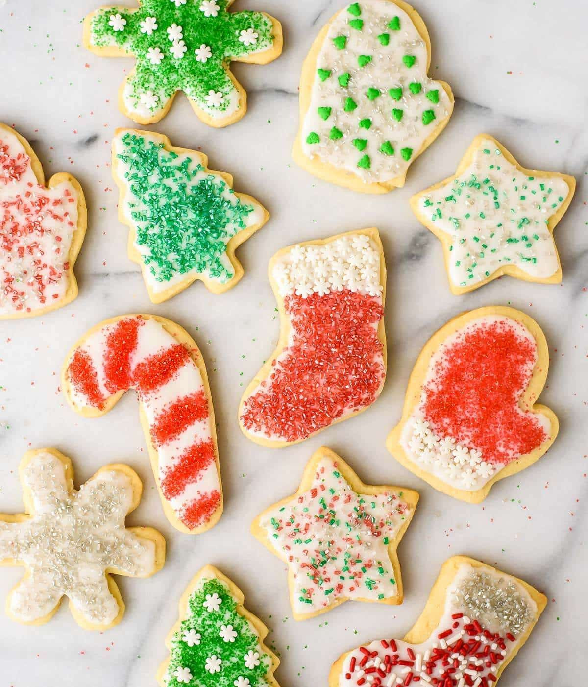 Christmas Sugar Cookies Recipe  Perfect Cream Cheese Sugar Cookies