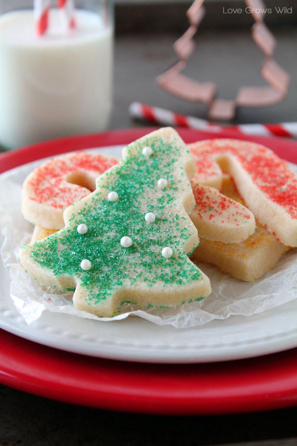 Christmas Sugar Cookies Recipe  25 more Christmas cookie exchange recipes