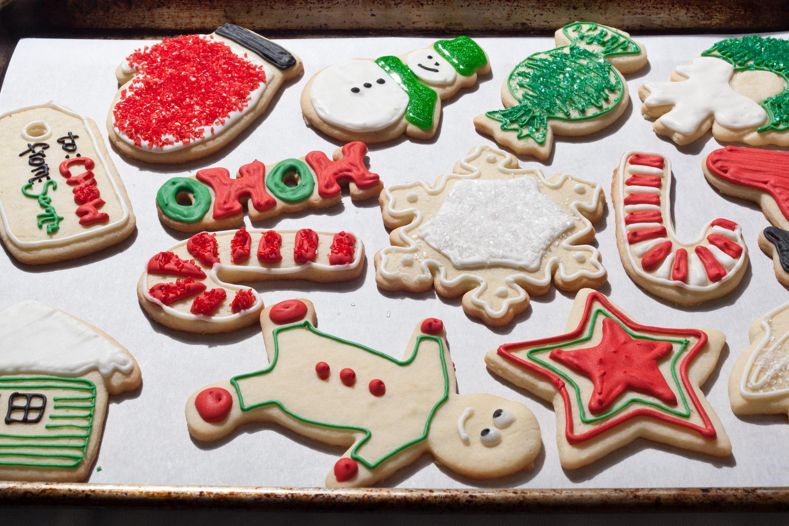Christmas Sugar Cookies Recipe  Christmas Sugar Cookies Recipe Chowhound