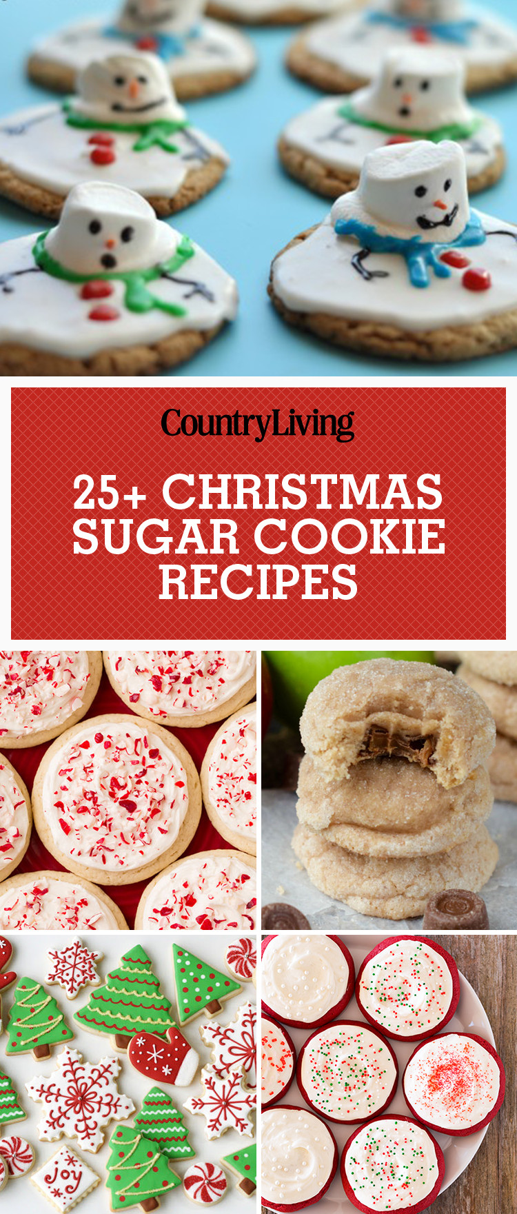 Christmas Sugar Cookies Recipe  25 Easy Christmas Sugar Cookies Recipes & Decorating
