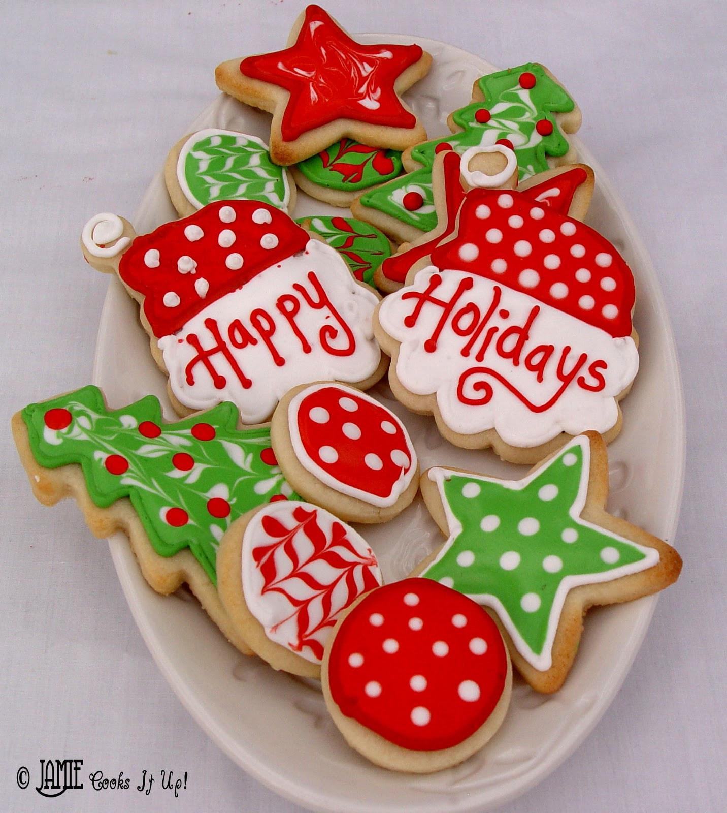 Christmas Sugar Cookies Recipe  Christmas Sugar Cookies with Glaze Icing