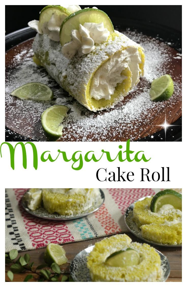 Cinco De Mayo Dessert Recipes  Lime Margarita Cake Roll Cinco de Mayo Dessert