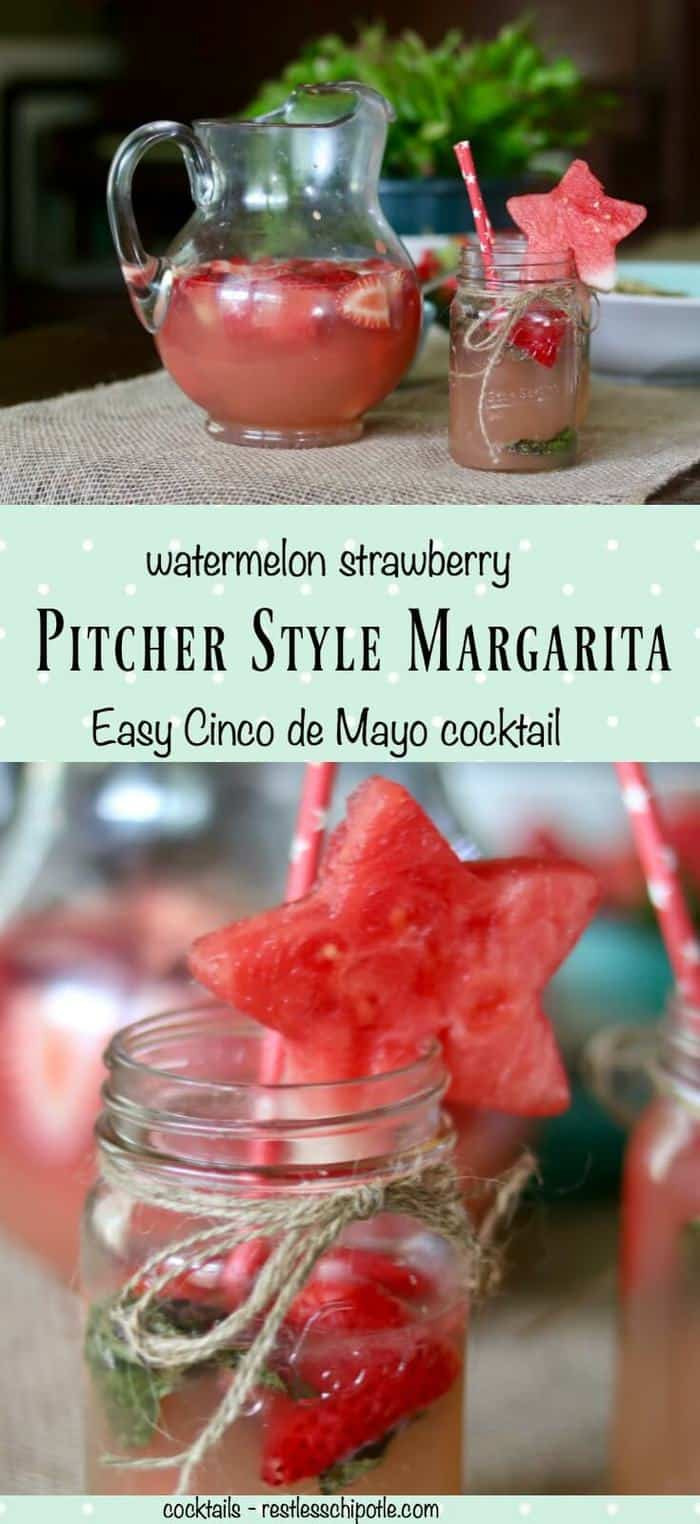 Cinco De Mayo Margaritas  Margaritas by the Pitcher for Cinco de Mayo