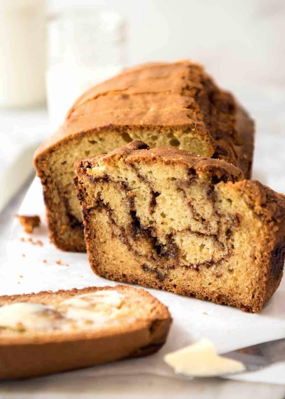 Cinnamon Quick Bread  Easy Cinnamon Bread No Yeast
