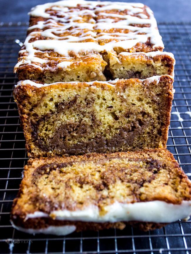 Cinnamon Quick Bread  Cinnamon Swirl Quick Bread Treats and Eats